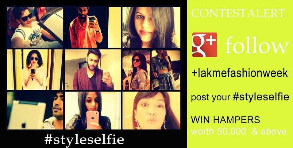 lakme style selfie