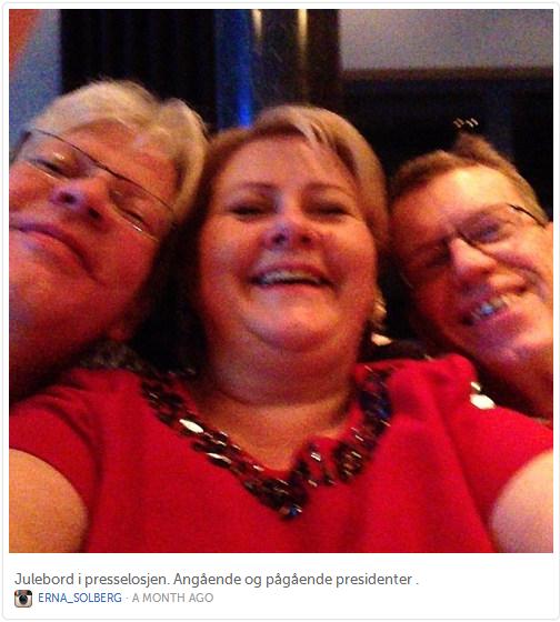 @Erna_Solberg-Selfie