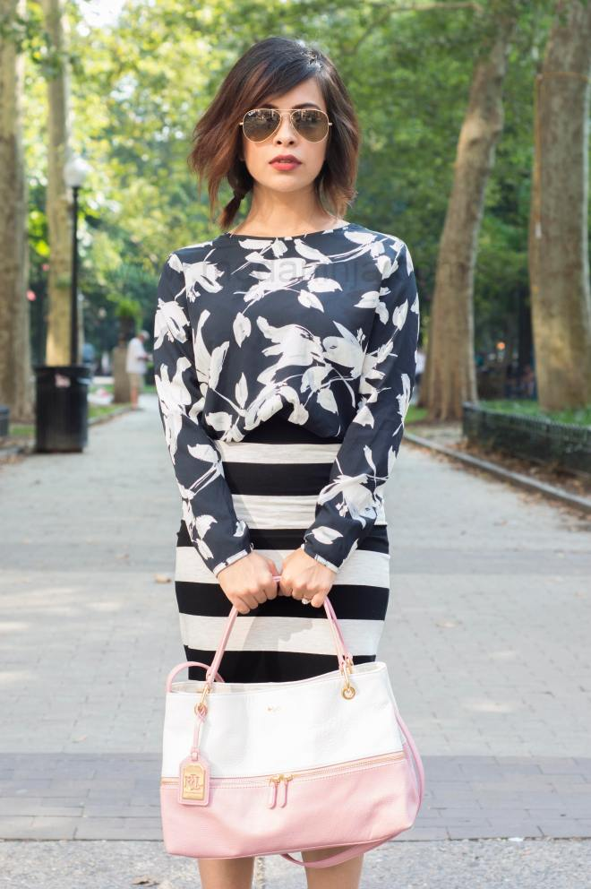 Floral and Stripes 2