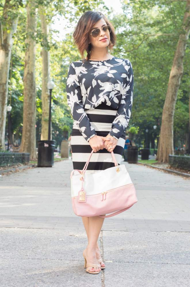 Floral and Stripes 3